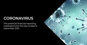 CORONAVIRUS: THE POTENTIAL FINANCIAL REPORTING IMPLICATIONS FOR THE YEAR ENDED 31 DECEMBER 2019